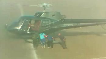 Helikopterrel raboltatta el magát utolsó meccséről a szicíliai futballista