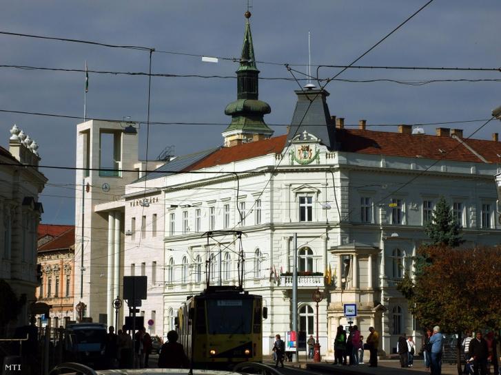 Miskolc Polgármesteri Hivatala a Városháza téren.