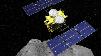 A japán űrszonda bombát dobott a Ryugu kisbolygóra
