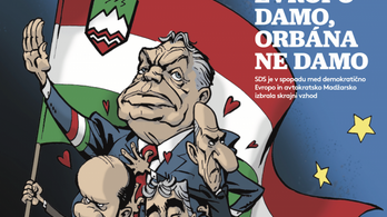 Hungarian government demands action against Slovenian newspaper for cartoon on Orbán