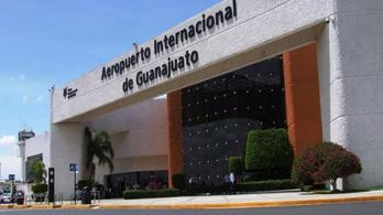 3 perc alatt 300 millió forintnyi zsákmánnyal távoztak a mexikói reptéri rablók