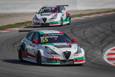 Tavaly még szinte teljesen fehér volt az Alfa Romeo, de a Team Mulsanne idénre olaszosabbra vette a mintát