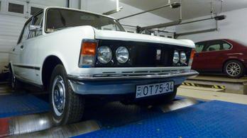 Totalcar Erőmérő: Polski Fiat 125p