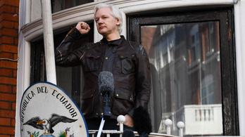 Wikileaks: Bármikor kidobhatják Assange-ot a követségről