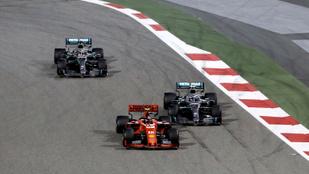 Soha nem látott hiba miatt lassult le Leclerc a Bahreini Nagydíjon