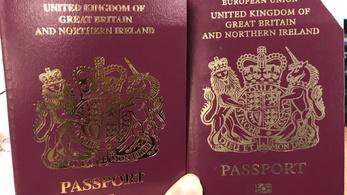 A brit útlevelek már brexiteltek