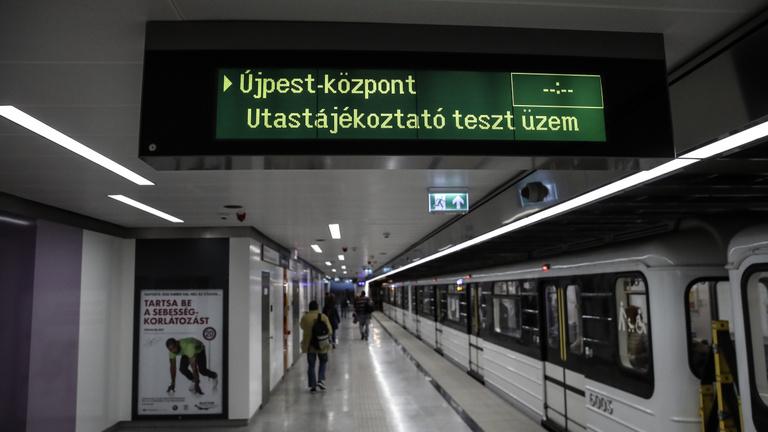 Folytatódik az M3-as metró felújítása