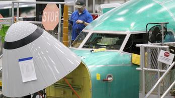 A Boeing visszavágja a 737-esek gyártását