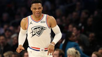 Őrült passzt adott az NBA tripla-dupla királya