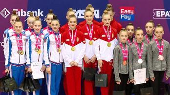 Sporttörténelmi magyar siker ritmikus gimnasztikában