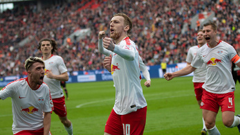 Hatgólos meccset nyert az RB Leipzig