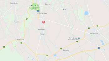 Meghalt egy motoros Eger közelében