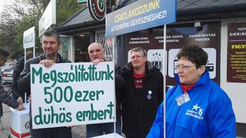Félmillió aláírásnál jár Hadházy petíciója az Európai Ügyészséghez való csatlakozásért