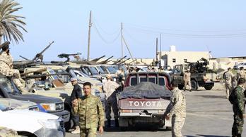 Fokozódik a helyzet Líbiában: légi csapást hajtottak végre Tripoli külvárosában