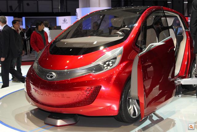 """A neve: Megapixel. Ez a Tata új, """"global car concept"""""""