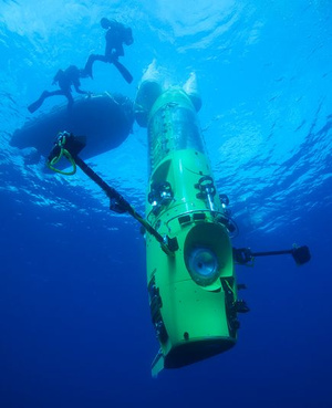 A Deepsea Challenger (Fotó: Mark Thiessen / National Geographic)