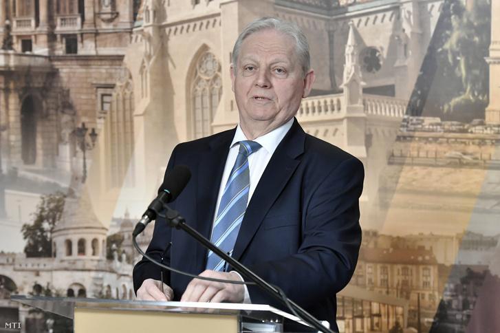 Tarlós István 2019. április 4-én.