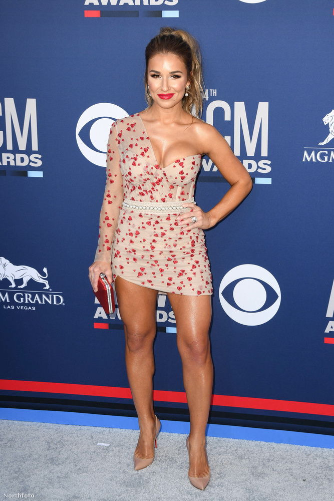 Jessie James Decker szintén egy énekesnő, és ő volt a legnyáriasabban öltözött személy ezen a rendezvényen