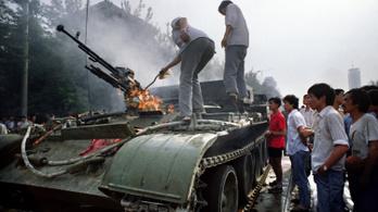 Megrongálták a Tienanmen téri vérengzés emlékét őrző múzeumot