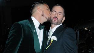 Marc Jacobs parádés celebsereg jelenlétében ment férjhez