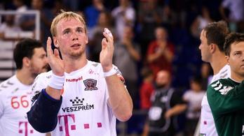 Olimpiai, világ- és Európa-bajnok távozik a Veszprémtől