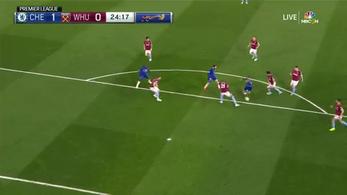 Zidane csorgathatja a nyálát, akkora gólt lőtt Hazard