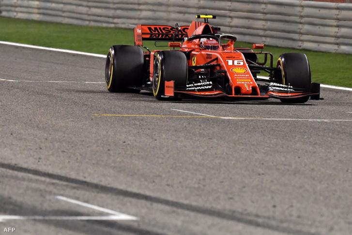Leclerc utolérhetetlen volt Bahreinben - amíg a motorja bírta