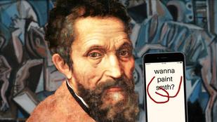 Hogyan boldogulna Michelangelo a 21. században?