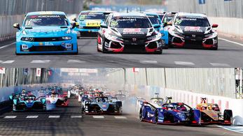 Így hagyta le messze a Formula-E Micheliszék bajnokságát