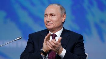 Putyin: Oroszország semmilyen választásba nem avatkozott bele