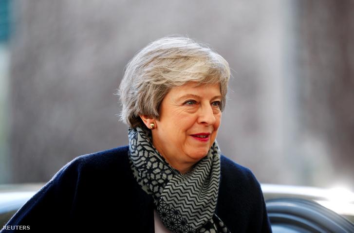 Theresa May Berlinben 2019. április 9-én.