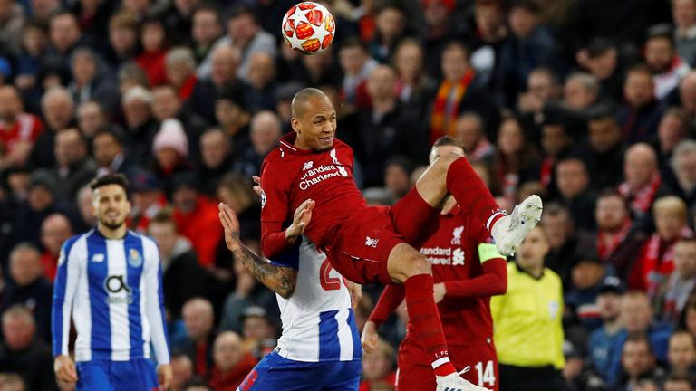 Liverpool-Porto BL-negyeddöntő