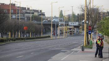 Feloldották a zárást a BAH-csomópontnál, újraindult a forgalom