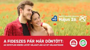 Beveti az EP-kampányban a kormány családpolitikai mémpárját az MSZP–Párbeszéd