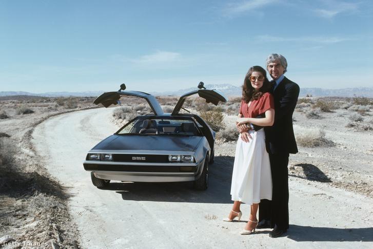 John DeLorean és felesége, Cristina Ferrare