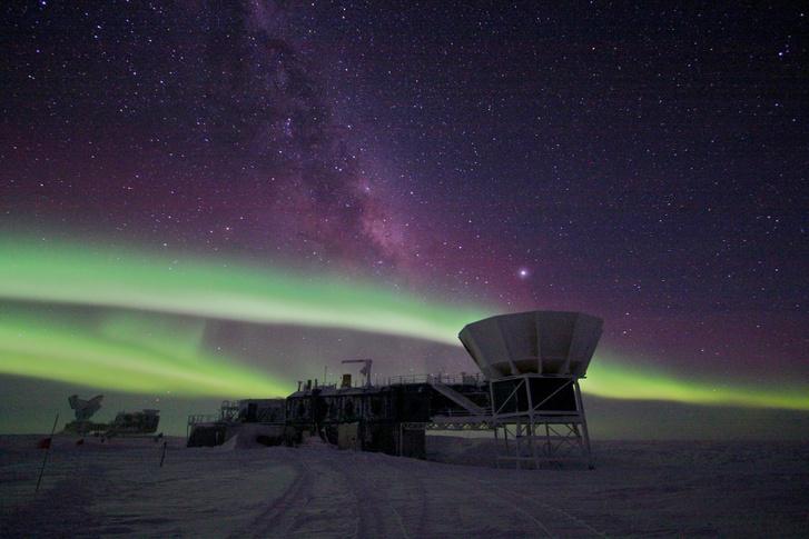 A Déli-sarki teleszkóp