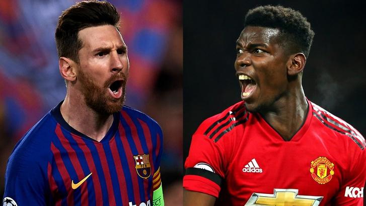 Szerdán Messi a Barcát, Pogba a Unitedet vezeti az újabb ManUnited-Barcelonán