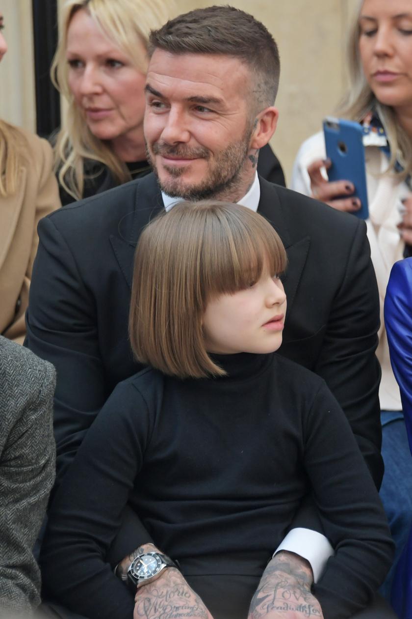 Harper már most egy mini stílusikon - kész Anna Wintour a lány!