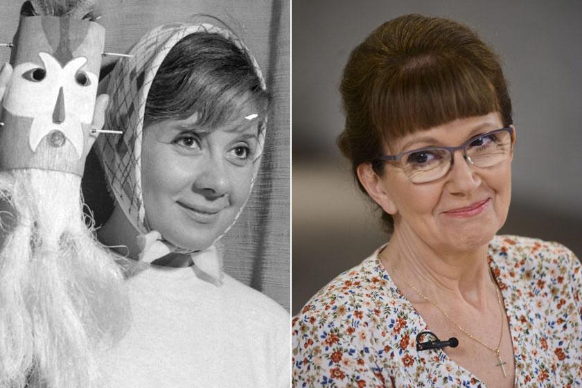 Friss fotókon Ruttkai Éva lánya - A 65 éves Júlia nagyon hasonlít édesanyjára