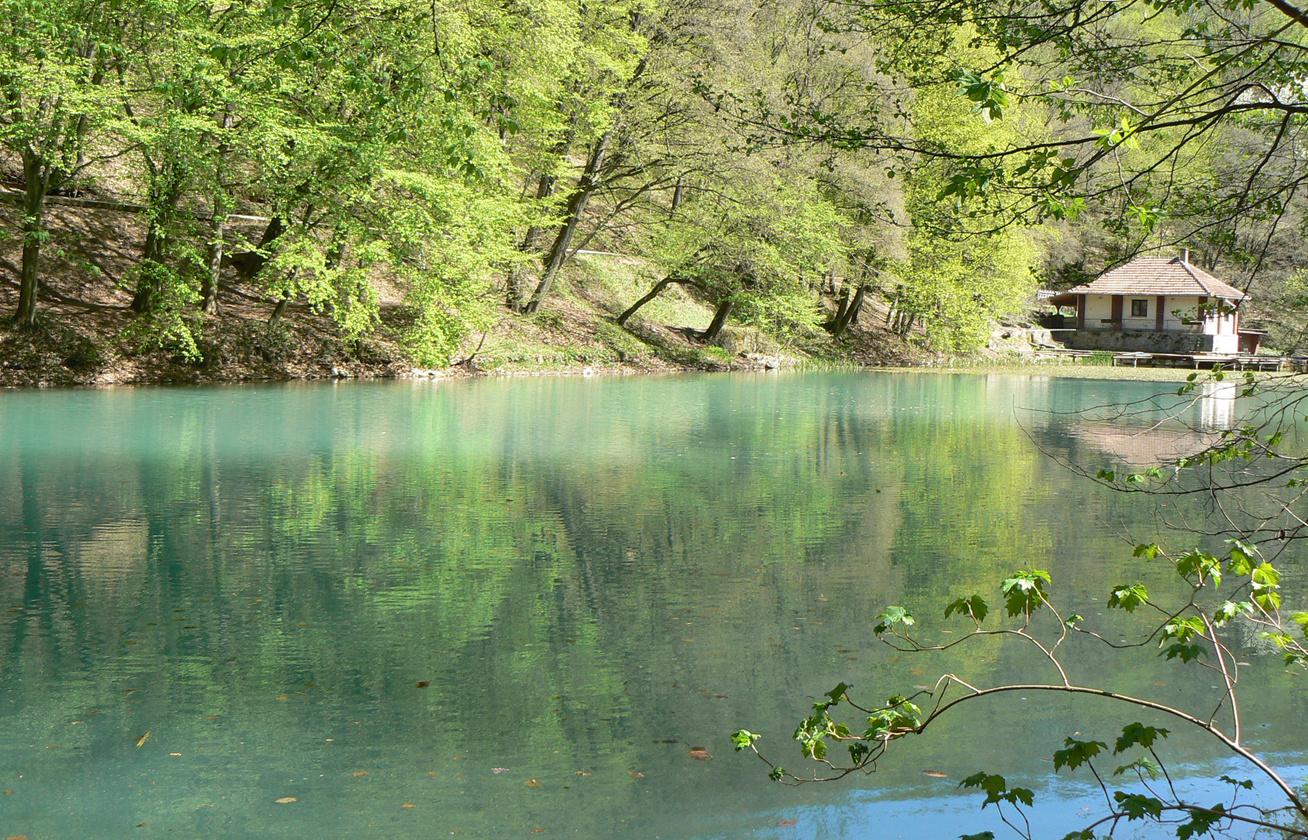 cd44715260 Magyarország legcsodálatosabb mesterséges állóvizénél, a jósvafői  Tengerszem-tónál is lassacskán teljesen feléled a természet