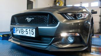 Totalcar Erőmérő: Ford Mustang GT 5.0 – 2018.