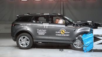 Tizennégy csillagot kapott két autó az EuroNCAP-tól