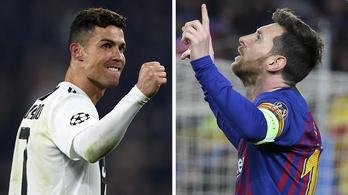 MU-Barca, Ajax-Juve a BL-ben