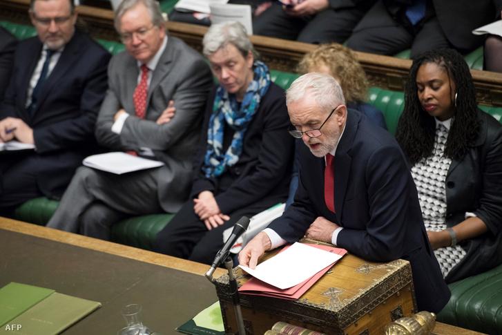 Jeremy Corbyn, a Munkáspárt vezetője