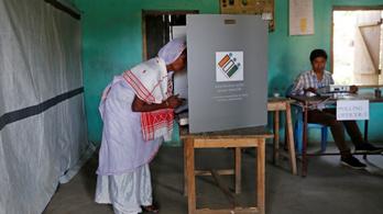 Választás indul a világ legnagyobb demokráciájában