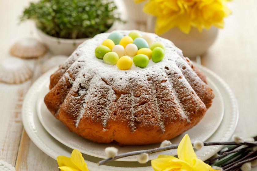 Tarka, kelt tésztás kuglóf a húsvéti asztalra, régi családi recept szerint