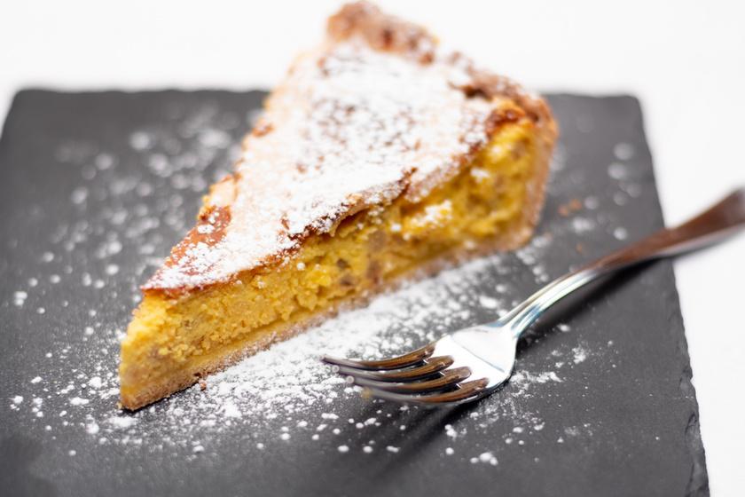 Krémes, citrusos nápolyi süti: az olaszok húsvétra mindig elkészítik