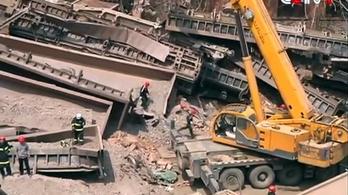 Lakóházba csapódott egy tehervonat Kínában, többen meghaltak