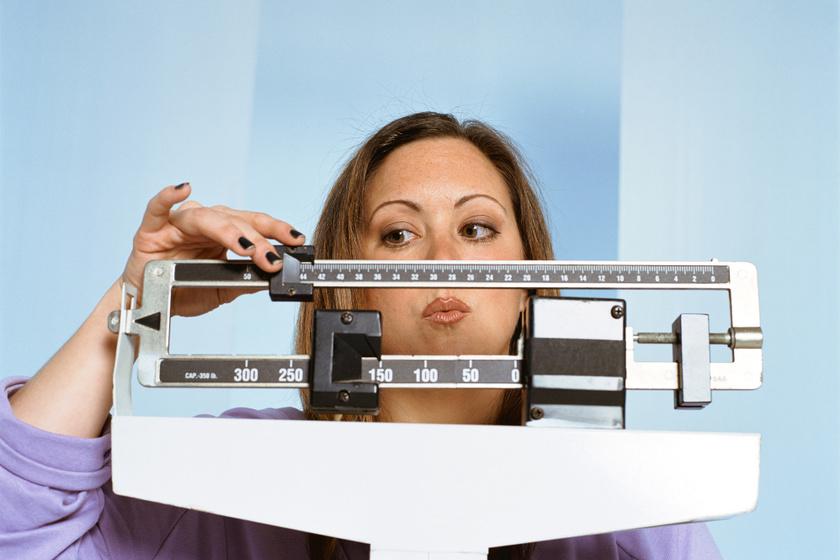 fogyás fogyókúra nő mérleg