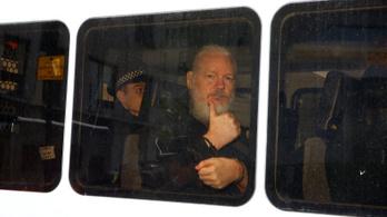 Őrizetbe vették a Wikileaks-alapító Julian Assange-ot